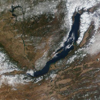 Baikaljärvi.