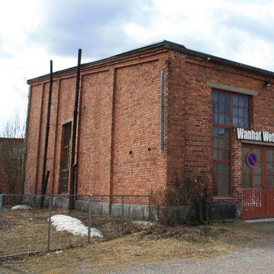Vanha veturitalli Pieksämäellä.