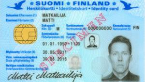 Nya id-kort från och med juni 2011