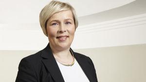 VR:s direktör för passagerartrafiken Maisa Romanainen