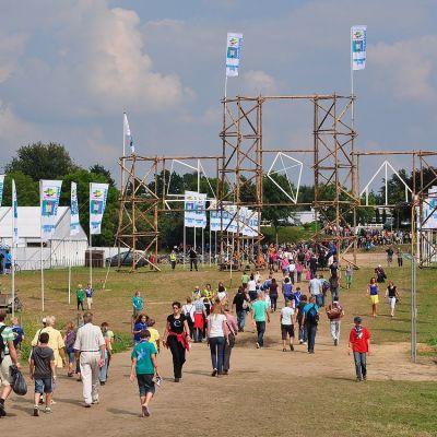 Jamboree lägret år 2010 ordnades i Nederländerna.