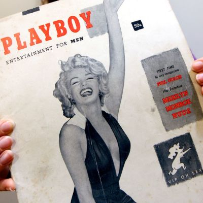 Playboy-lehden ensimmäisessä vuonna 1953 julkaistussa numerossa poseerasi Marilyn Monroe.