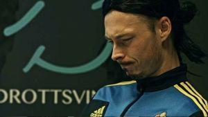 Michael Olsson som Zlatan