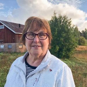 Ann-Maj Holmberg i Halikko i Salo.