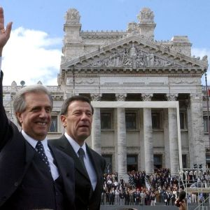 Vazqués ny president i Uruguay