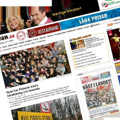 Nya Ålands webbplats