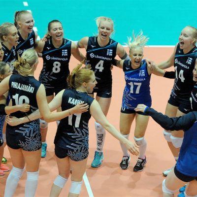 Suomen naisten lentopallomaajoukkue MM-karsinnassa