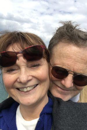 Sikke Sumari och hennes man Tony.