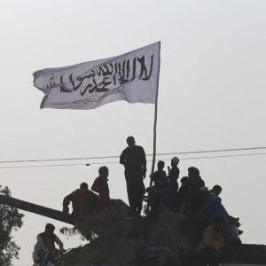 Taliban partioi Heratissa 18. elokuuta.