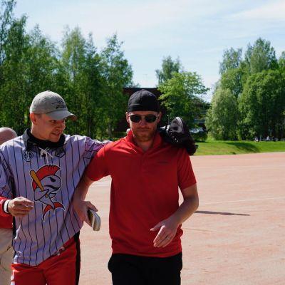 Jussi Muilu ja Heikki Rantannen