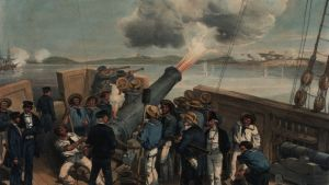 Maalaus Oolannin sodasta (Krimin sota)