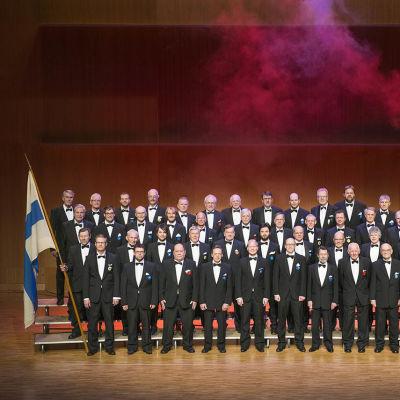 Jakobstads Sångarbröder vid 100-årsjubiléet 2015.