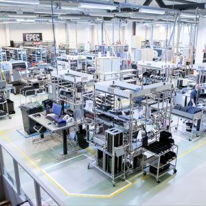 Epec Oy:n teollisuushalli