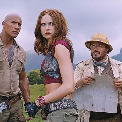 Jumanji: Welcome to the Jungle -seikkailuelokuvan lehdistökuva.