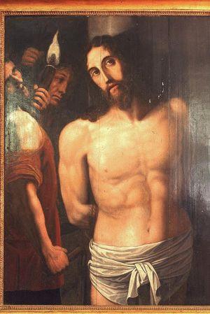En tavla av Kristus.