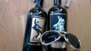 Elvis-vinflaskor