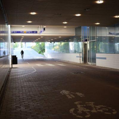 Porin rautatieaseman tunneli porttaalitunneli