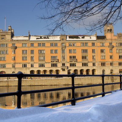 Regeringsbyggnaden Rosenbad i Stockholm