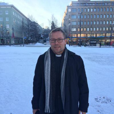 Keski-Lahden seurakunnan kirkkoherra Miika Hämäläinen