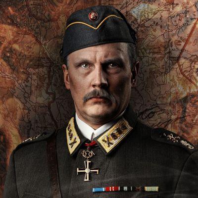 Porin teatterissa vuonna 2020 esitettävässä Mannerheim ja saksalainen suudelma -näytelmässä pääosan esittää näyttelijä Janne Turkki.
