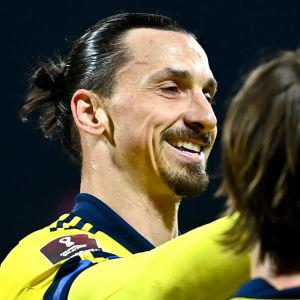 Zlatan Ibrahimovic i landslaget 2021.