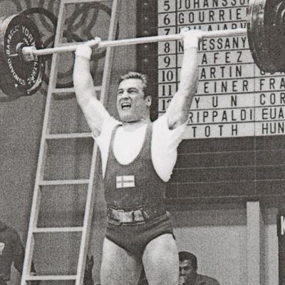 Kaarlo Kangasniemi Meksikon olympialaisissa. (1968)
