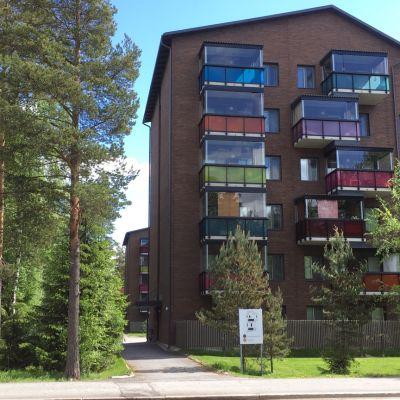 Lakea Oy:n ensimmäiset puukerrostalot Seinäjoella.