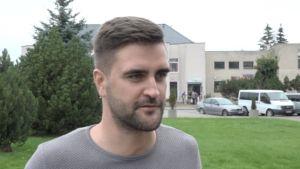 Lukas Bakšys, en ung man i litauiska Jurbarkas