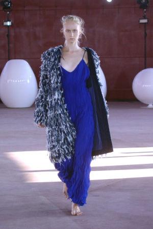 Modeskaparen Tiziano Guardinis arbeten.