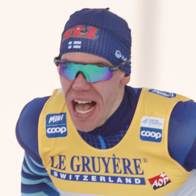 Markus Vuorela åker klassiskt i Ruka 2020.