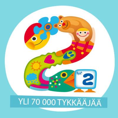 Pikku Kakkosella on 70 000 tykkääjää.
