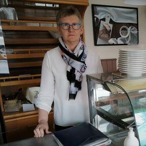 Leipomo Othellon toimitusjohtaja Susanne Ahlnäs
