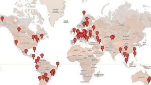 Nightwishin fanit maailmankartalla