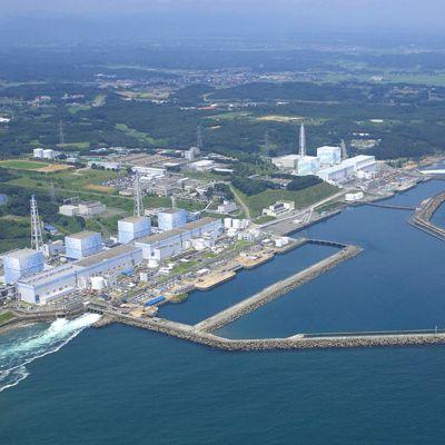 Kärnkraftverket Fukushima 1 (Daiichi) i Japan.