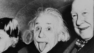 """Einstein kuuluisa """"kielikuva"""""""