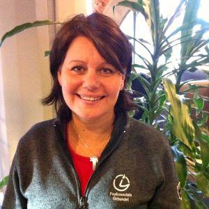 Ann-Charlotte Rastas är rehabiliteringschef på Psykosociala förbundet.