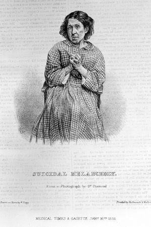 Melankolikon kuva 1856-vuodelta