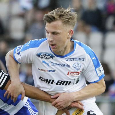 Sebastian Dahlström och Lucas Lingman.