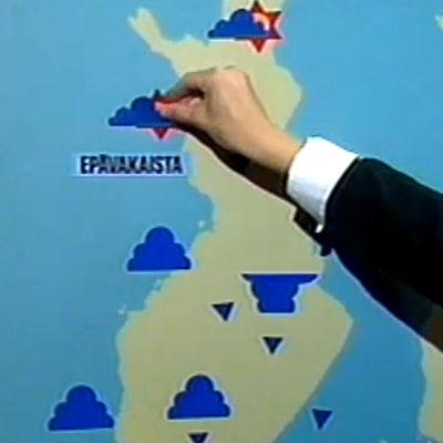 Liisa Fredriksson ennustaa syyssäätä (1986).