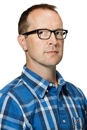 Redaktören Christian Vuojärvi.