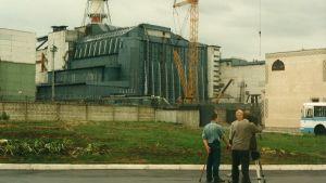 Kärnkraftverket i Chernobyl.