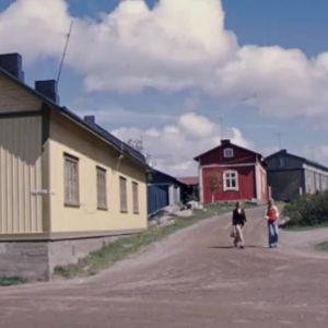 Katukuvaa Raumalta (1970-luku)