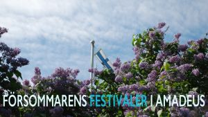 Sommarskön festivalstämning