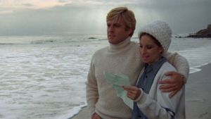 "Robert Redford och Barbra Streisand i filmen ""The Way We Were""."