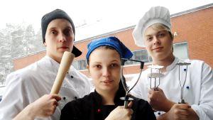 Testissä perunasurvimet