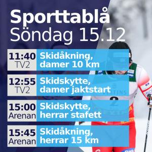 Sportsändning 15.12.