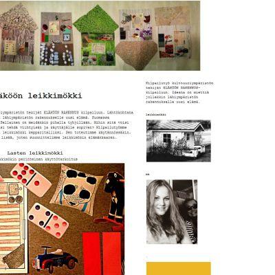 Leikkimökki; blogi; Laatikainen