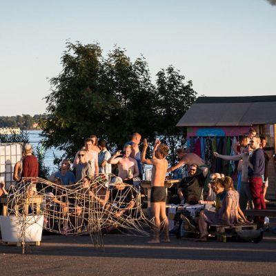 Sompasauna i Sumparn vann kulturpris år 2016.