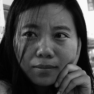 Porträtt av författaren Xiaolu Guo