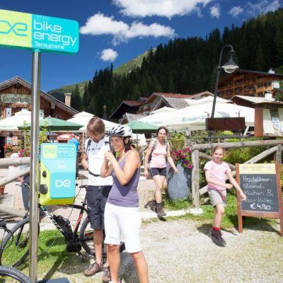 pyörälaturi Itävallassa